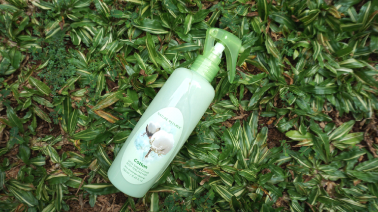 [Review] Nature Republic Skin Smoothing Body Peeling Mist