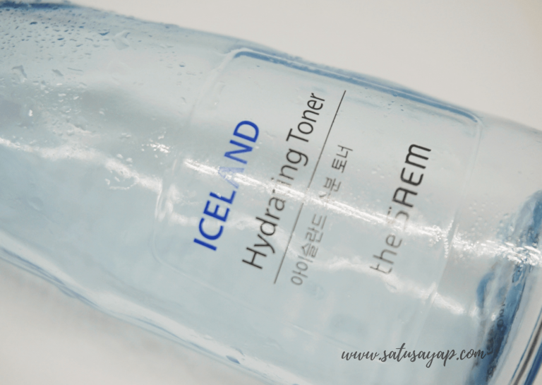 [Review] The SAEM Iceland Hydrating Toner